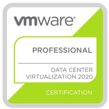 Vmware vcp-dcv 2021 badge