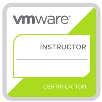 VMware Instructor badge