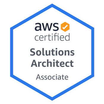 AWS Certified Solutions Architect Associate badge