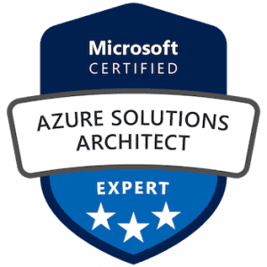 azure solution architect badge