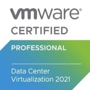 VMware VCP-DCV 2021 logo badge